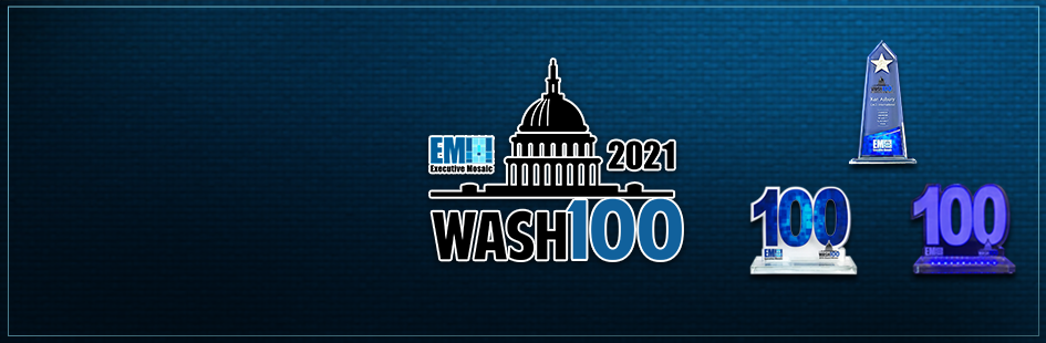 Jennifer Felix, ASRC Federal President & CEO, Named to 2021 Wash100 Award for Expanding the Company's Footprint in Federal Market - top government contractors - best government contracting event